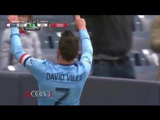 Потрясающий гол Давида Вильи в МЛС