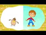 СБОРНИК 2 - ЕДЕТ ТРАКТОР 50 минут 8 развивающих песенок мультиков для детей про трактора и машинкиСиний Трактор3039