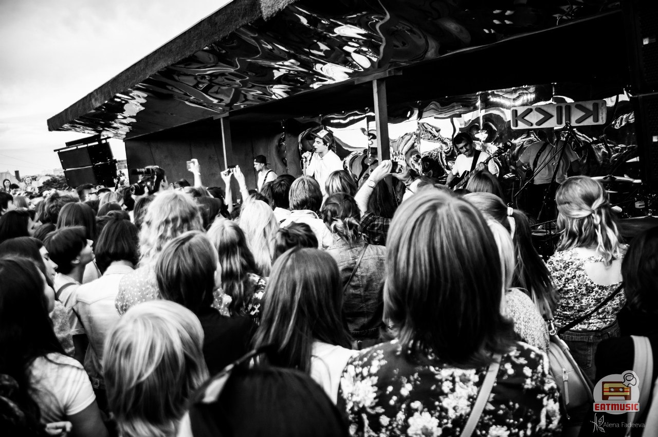Концерт СБПЧ на крыше Hi-Hat: