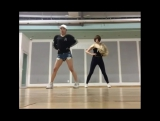 Lime dance practice with Gorilla Crew's Jia