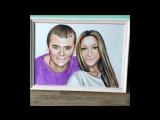 рисую цветные портреты