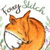 Foxystitch, равномерка, мулине ДМС