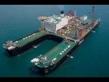 Невероятное судно. Самый большой корабль в истории. Демонтаж нефтяный платформ.