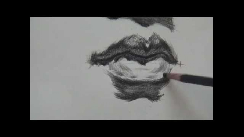 How to Draw Mouth Lips 2