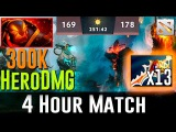 4 Hours Longest Epic Game Ever Dota 2