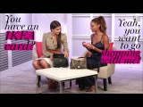 Victoria's Secret Models Jasmine Tookes and Taylor Hill What's in My Bag