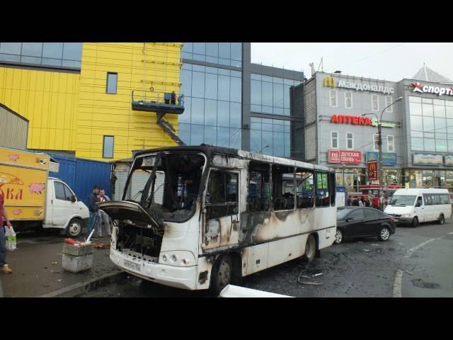 Проект Пожар в маршрутке СПБ, м Рыбацкое