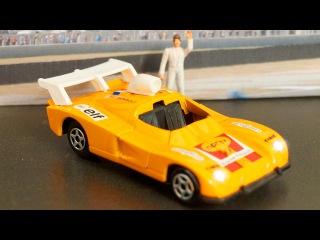 Sarı Yarış Arabası - Akıllı Arabalar çizgi filmi - Türkçe İzle
