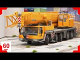 The Yellow Crane + 1 Hour kids videos compilation  Construction Trucks &amp Cars for children