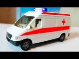 Beyaz Ambulans ve Yarış Arabası - Akıllı Arabalar çizgi filmi - Türkçe İzle