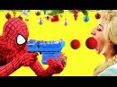 Frozen Elsa Spiderman Maleficent Hulk Princess Anna Rapunzel Christmas Superheroes in Real Life