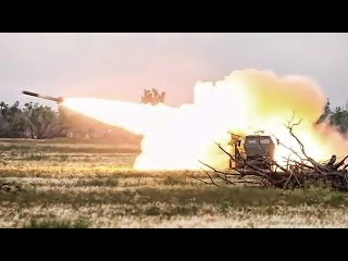 US Marines Extremely Powerful Multiple High Mobility Artillery Rocket System HIMARS