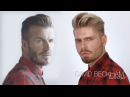 David Beckham Side Parting
