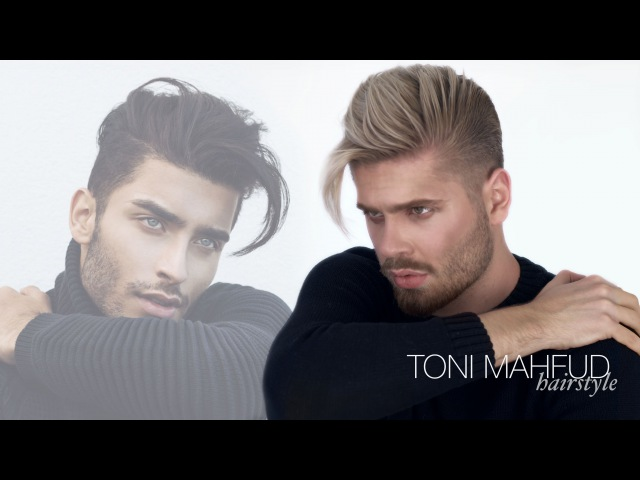 Toni Mahfud Hairstyle