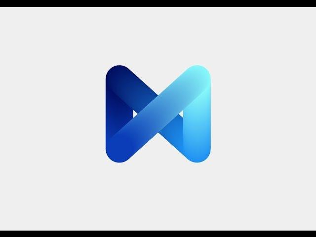 Create Logo With blend Tool ( Adobe Illustrator)