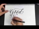 How to draw with Akashiya Twin Brush Pen