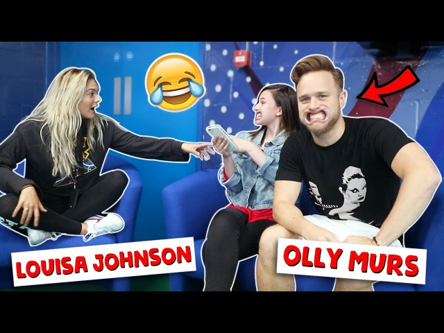 MOUTHGUARD CHALLENGE ft. Olly Murs Louisa Johnson