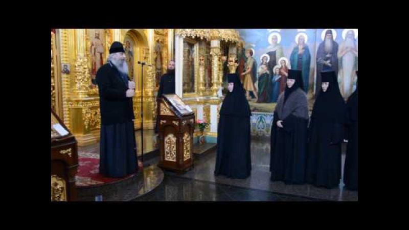 Посещение митр Арсением Свято Георгиевского подворья Городокского монастыря