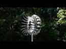 Ветряная кинетическая скульптура из нержавеющей стали Э. Хоу/ Wind sculpture by A. Howe