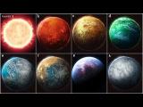 ЧТО МЫ ЗНАЕМ О 7 МИРАХ Звезда TRAPPIST-1 и ее планеты b, c, d, e, f, g и h