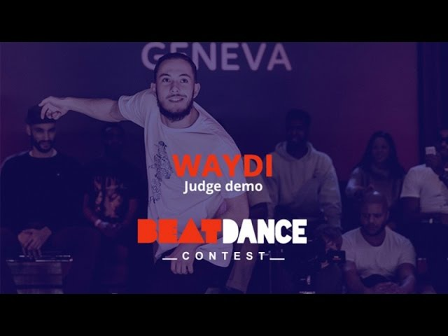 Waydi (CriminalZ crew) - Judge demo - Beatdance Contest 2017 GENEVA