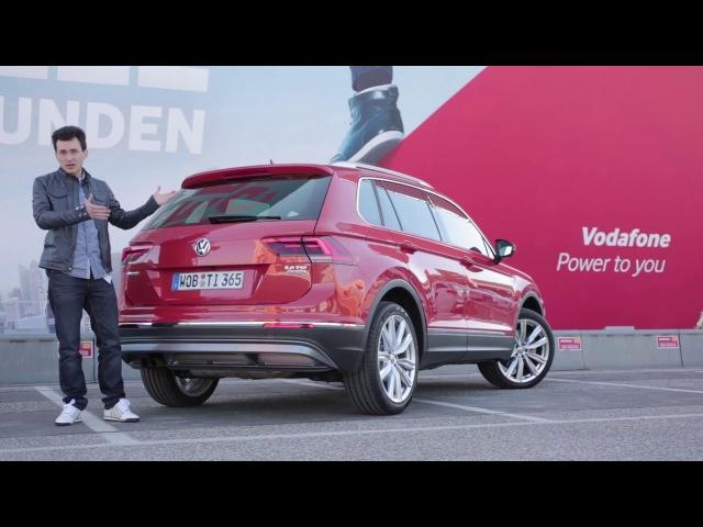 НОВЫЙ Volkswagen Tiguan. Тест-драйв Алана Енилеева в Берлине