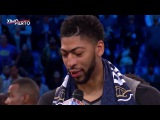 Anthony Davis Wins the MVP Award|East vs West|19.022017 NBA All Star Game