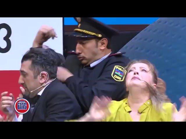 Parodiya - İlham Əliyev ölkəmizdə istehsal olunan KAMAZ yük maşını ilə tanış olmuşdur