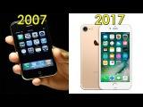 За 10 лет, как изменился смартфон iPhone | Эволюцию iPhone