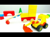 Max the Excavator builds himself! – Cool videos with cars – #KidsFIrstTV videos for kids