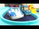 Oyuncak arabalar - #RobocarPoli ve kurtarma ekibi köprü tamir ediyorlar - Türkçe izle!