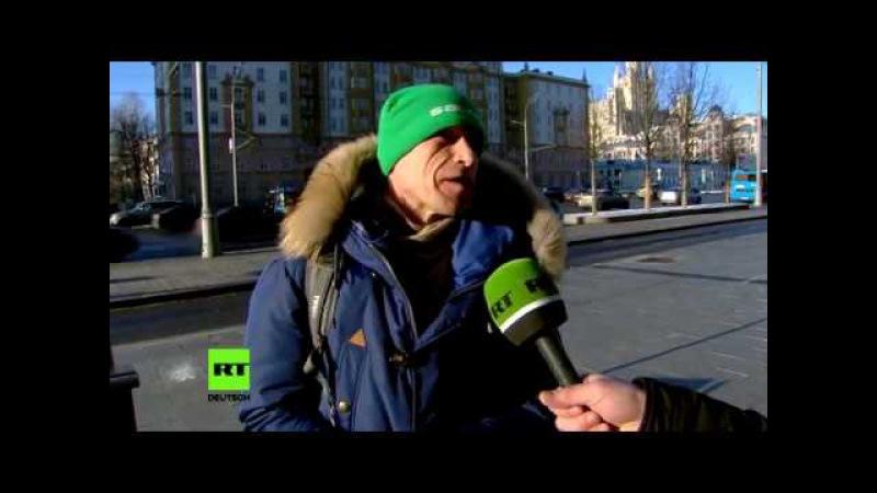 """""""Viel versprochen – wenig gehalten."""" Was Moskauer mit Obamas Amtszeit assoziieren"""