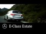 The new E-Class Estate. Masterpiece of Intelligence – Mercedes-Benz Original