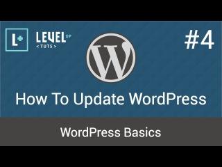 WordPress Basics #4 - How To Update WordPress