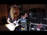 Dave Mustaine playing Black Friday!