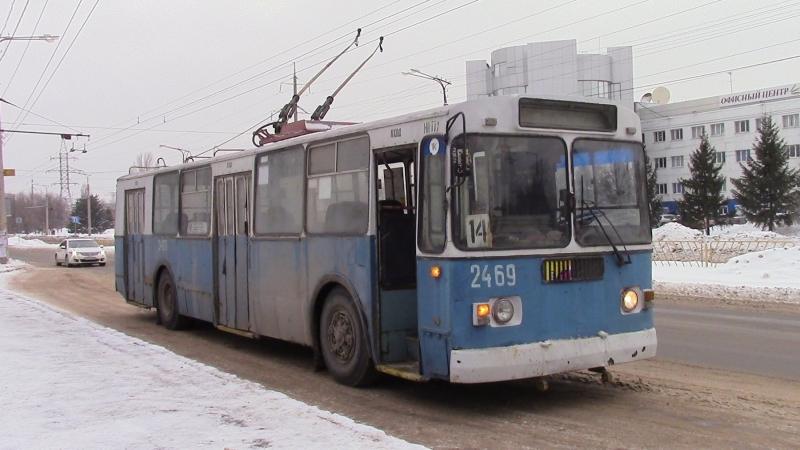 Перегон троллейбуса Зиу 682 в Депо №3 на ТО Нулевой рейс г Тольятти