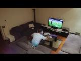 Жена жестко разыграла мужа, который захотел досмотреть матч один Турция Хорвати - YouTube (720p)