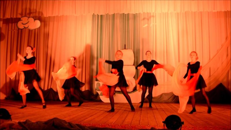 CHHER DANCE танец с вейлами Огонь