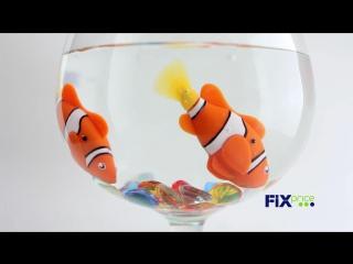 Плавающая рыбка