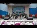 Танец-попурри на песни военных лет в исполнении учеников Тахталымской СОШ