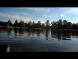 прогулка по озеру...