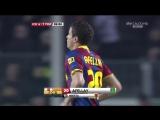 ЧИ 2010-11 | 19 тур | Барселона - Малага 4-1 | 2 тайм