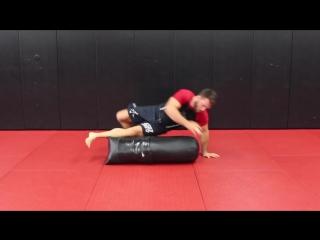 10 BJJ Solo Drills W_ Heavy Bag (Top Pressure And Movement)
