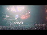 @djsnake playing 'Let Me Love You' in a recent set. The crowd knows every word, of course!