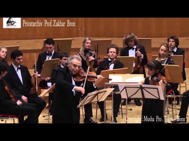 Zakhar Bron und Vlada Berezhnaya spielen die Sonate für 2 Violinen in C-Dur von Prokofiev