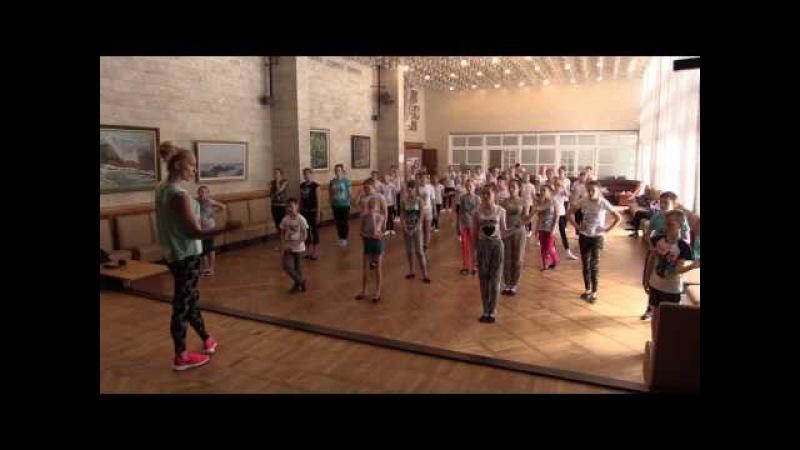Мастер-класс Vogue в рамках хореографического лагеря Akva-Temp!
