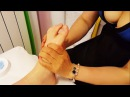 Reflexology Feet Massage Therapy performed by Chinese Girl ASMR video