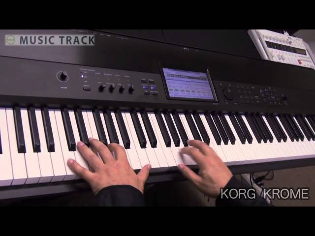 KORG KROME DemoReview [English Captions]
