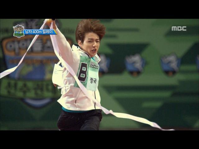 [ISAC] 아이돌스타 선수권대회 - Mans relay winner is BTS! 20160915