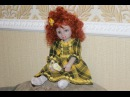 Мастер класс Шьём текстильно скульптурную куклу Урок 1 Голова